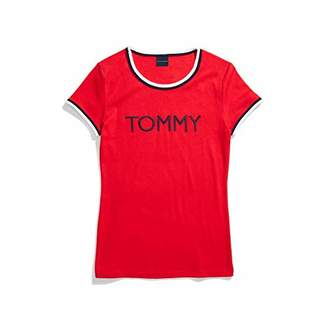 Tommy Hilfiger Women's Adaptive T Shirt with Wide Neck Opening