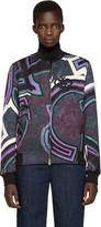 Emilio Pucci Multicolor Patterned Bomber Jacket