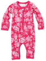 Coccoli Newborn/Infant Girls) Pink Floral Romper
