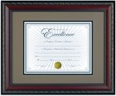 Bed Bath & Beyond 8.5-Inch x 11-Inch Deluxe Document Frame in World Class Walnut