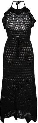 Pinko Autorete crochet dress