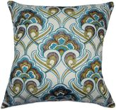 Bed Bath & Beyond Peacock Embroidered Square Throw Pillow