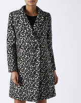 Monsoon Carrie Leopard Print Coat