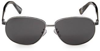 Ermenegildo Zegna 62MM Square Sunglasses