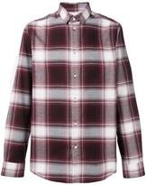 Slate checked shirt