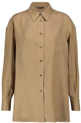 Loro Piana Fabienne linen shirt