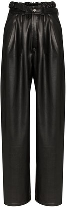 Markoo High-Rise Wide-Leg Trousers