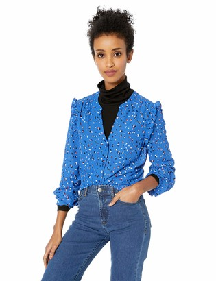 Vero Moda Women's Dee Long Sleeve Printed Blouse