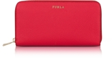 Furla Ruby Babylon XL Zip Around Calf Leather Wallet