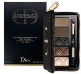 Christian Dior Brows Limited Edition Holiday Total Matte Smokey Pallete Eyes/0.3 oz.