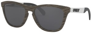 Oakley Polarized Sunglasses, OO9428 55 Frogskins Mix