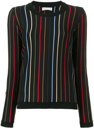 Sonia Rykiel Striped Knit Jumper