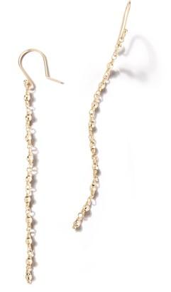 Mizuki Sea of Beauty Geometric Bead Linear Drop Earrings