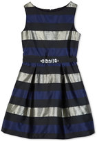 Amy Byer Striped Fit & Flare Dress, Big Girls (7-16)
