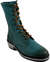 Gee WaWa Turquoise Aira Leather Boot