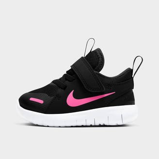 Nike Girls' Toddler Flex Contact 4 Hook-and-Loop Running Shoes