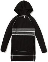 Nevada Long Sleeve Lurex Hooded Sweater Dress