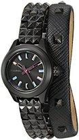 Diesel Ladies DZ5528 Kray Kray Black Double Wrap Watch
