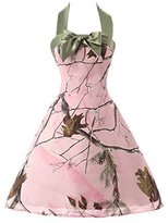 Audrey Bride Halter Mini Ball Graduate Dresses for Girls Military Ball- US