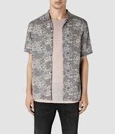 AllSaints Hydrangea Short Sleeve Shirt