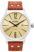 TW Steel Men's Slim Line Leather Automatic Watch - TWA1311