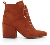 Sam Edelman Tate Suede Lace-Up Bootie