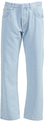 Loewe Light Blue Embroidered Denim Jeans