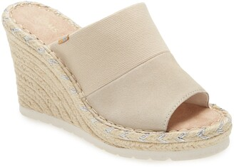 Toms Monica Wedge Slide Sandal