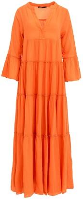 Devotion Ella Orange Long Dress - S