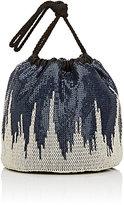 Paco Rabanne Women's Sac Mesh Bucket Bag-NAVY