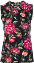 Dolce & Gabbana Roses twin set top