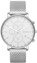Skagen 'Hagen' Chronograph Mesh Strap Watch, 42mm