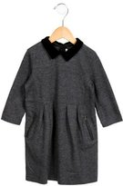 Bonpoint Girls' Wool Velvet-Trimmed Dress