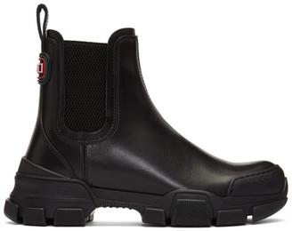 Gucci Black Leon Boots