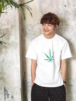Chubasco M T shirt Big Weed White M17101[unisex]