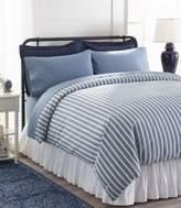 L.L. Bean L.L.Bean Sunwashed Percale Comforter Cover, Stripe