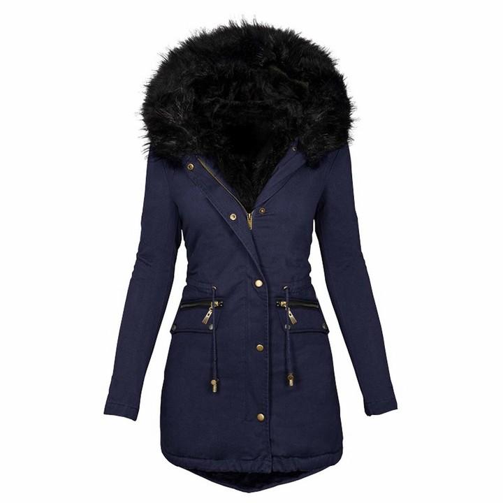 Faux Fur Lined Coat The World S, Long Faux Fur Lined Winter Coat