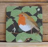 Bird Robin Placemat 'Gloss'