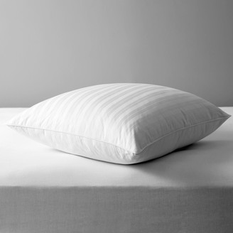 John Lewis & Partners Natural Collection Siberian Goose Feather and Down Square Pillow, Medium/Firm