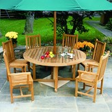 The Well Appointed House Kingsley Bate Essex Teak Dining Table-Available in Various Sizes