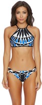 Ella Moss Moonlight Tribe High Neck Bikini Top