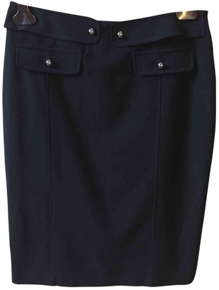Georges Rech Black Wool Skirt for Women
