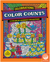 Color Counts: Celebrations Coloring Book
