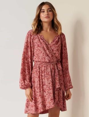 Ever New BeatriceWrap Mini Dress
