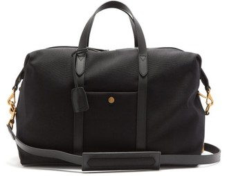 Mismo - Avail Canvas And Leather Holdall - Black