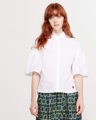 Parker Chinti & Fluted Sleeve Shirt