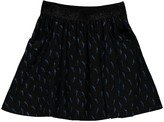 Little Eleven Paris Rills Lurex Lightning Skirt