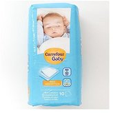 Carrefour Baby Mattress Mats 60x90cm 10 per pack - Pack of 6