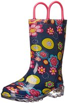 Western Chief Big Bloom Light-Up Rain Boot(Toddler/Little Kid/Big Kid)