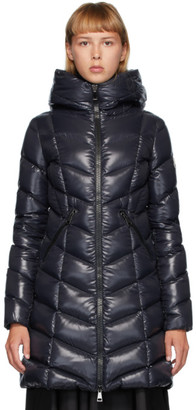 Moncler Navy Down Marus Coat